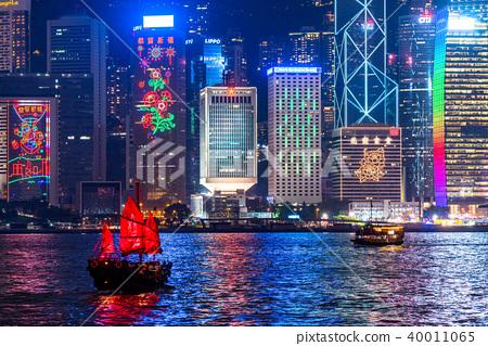 """""""香港""""夜景香港 40011065"""