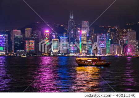 """""""香港""""夜景香港 40011340"""