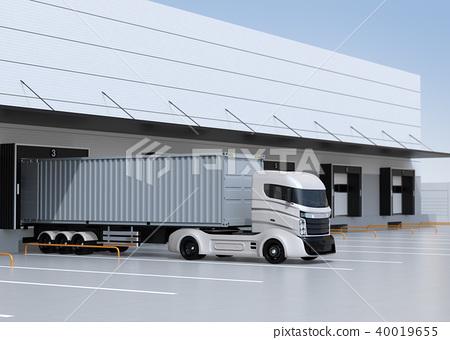 물류, 물류 센터, 트럭 40019655