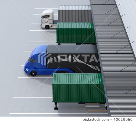 물류, 물류 센터, 트럭 40019660