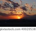 haneda airport, airport, sunset 40020538
