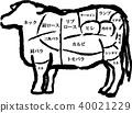 奶牛 牲口 牛 40021229