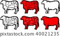 奶牛 牲口 牛 40021235