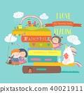 vector fairytale children 40021911