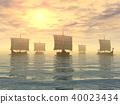 Viking ships 40023434