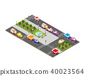 city,isometric,car 40023564