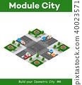 city,isometric,intersection 40023571