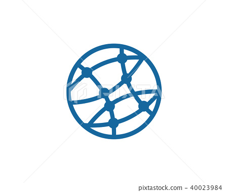 Global technology icon design 40023984