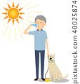 年长人水合作用狗走 40025874