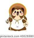 Cute Japanese Tanuki 40026980