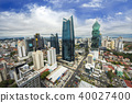 Aerial view of the modern skyline of Panama City , Panama 40027400