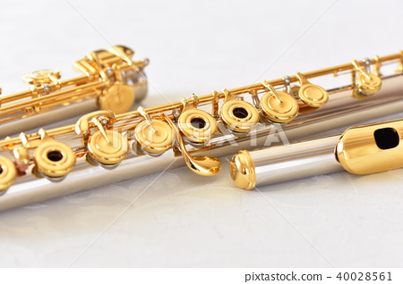 對齊的長笛 40028561
