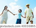 家庭旅行 40030865