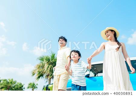 가족 여행 40030891