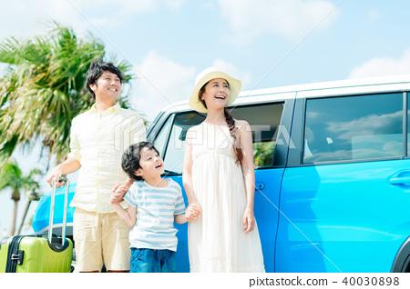 家庭旅行 40030898