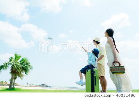 ครอบครัวภาพท่องเที่ยว 40031496