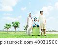 ครอบครัวภาพท่องเที่ยว 40031500