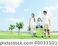 ครอบครัวภาพท่องเที่ยว 40031501
