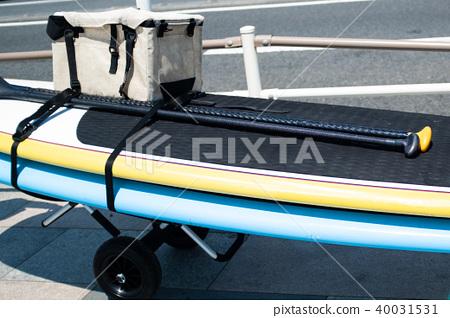 Transport of surfboards 40031531