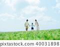 年輕的父母和孩子 40031898