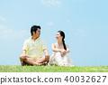 男人和女人夫婦大天空 40032627