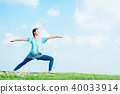 Women stretching 40033914