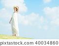 ผู้หญิงคนหนึ่งกำลังเดินทางผู้หญิง 40034860