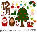 คริสต์มาส,ซานต้า,กวางเรนเดียร์ 40035991