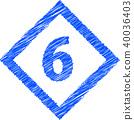 钻石涂鸦风格6号 40036403