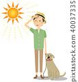 年轻人中暑对策狗走 40037335