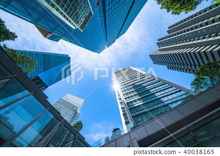 """ตึกระฟ้า """"โตเกียว"""" ·ย่านธุรกิจ 40038165"""
