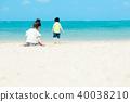 여름 어린이 바다 40038210