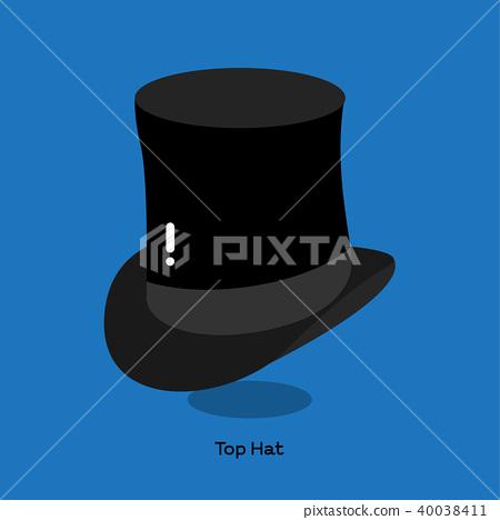 BLACK TOP HAT 40038411