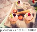 ice, cream, strawberry 40038841