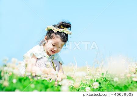 초원 가족 이미지 40039008