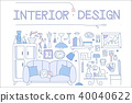 design, vector, illustration 40040622