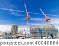 Large scale construction site 40040864