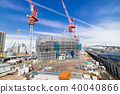 Large scale construction site 40040866