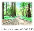 숲, 수풀, 삼림 40041393