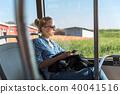 bus, woman, passenger 40041516