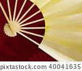 일본풍 무늬, 금박, 무늬 40041635