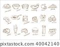 food, drink, vector 40042140