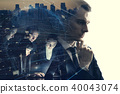abstract business concept 40043074