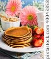 pancake, oatmeal, oat 40043858