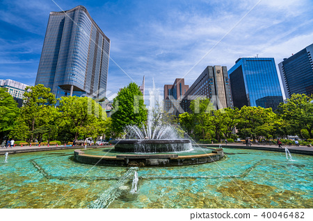 《東京》城市景觀・日比谷公園 40046482