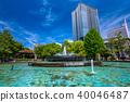 日比谷公園 噴泉 高層建築 40046487