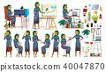 Boss CEO Character Vector. CEO, Managing Director, Representative Director. Poses, Emotions. Boss 40047870