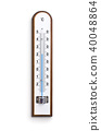Wooden weather Thermometer 40048864