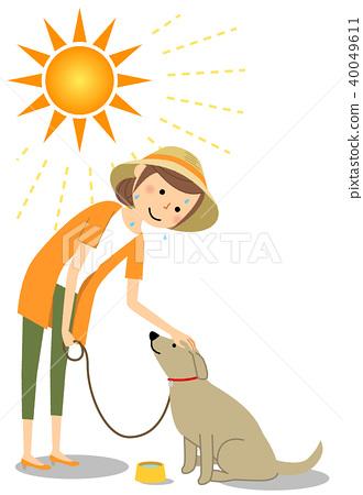 少妇中暑对策狗走 40049611