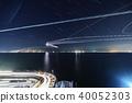 도쿄 만 아쿠아 라인 우미 호타루의 야경 Tokyo bay Aqualine 40052303